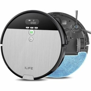 The Best Robot Mop Option: ILIFE V8s, 2-in-1 Robot Vacuum and Mop