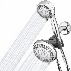 The Best Showerhead Option: Waterpik High Pressure Shower Head 2-in-1 Dual System