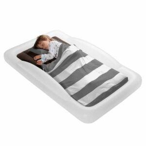 The Best Air Mattress Option: The Shrunks Toddler Travel Bed Portable Air Mattress