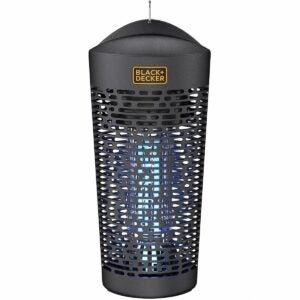 The Best Bug Zapper Option: BLACK+DECKER Outdoor Electric UV & Killer for Flies