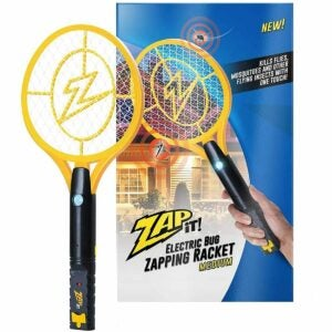 The Best Bug Zapper Option: Zap It Bug Zapper Rechargeable Bug Zapper Racket