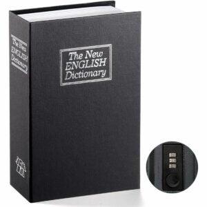 The Best Home Safe Option: Jssmst Book Safe with Combination Lock