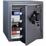 The Best Home Safe Option: SentrySafe SFW123GDC Fireproof and Waterproof Safe