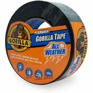 最佳鸭子胶带选择:Gorilla 6009002天气胶带,1包,黑色