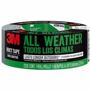 最佳帆布胶带选择:3M全天候帆布胶带