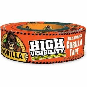 最好的鸭子胶带选择:大猩猩高能见度胶带
