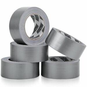 最佳鸭胶带选择:Lockport重型银色管道胶带