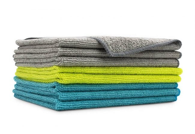 The Best Microfiber Cloth Option: AIDEA Microfiber Cleaning Cloths (8-Pack)