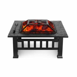The Best Patio Heaters Option: HEMBOR Outdoor Multipurpose Fire Pit Table