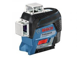 The Best Laser Level for Home Use Option: Bosch GLL3-330CG 360-Degree Green Laser Level