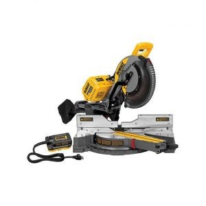 The Best Miter Saw option: DEWALT Dual-Power, Dual Compound Sliding Miter Saw