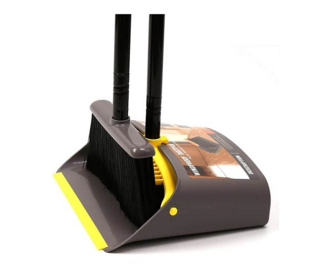 The Best Broom Option: TreeLen Dustpan and Broom Combo