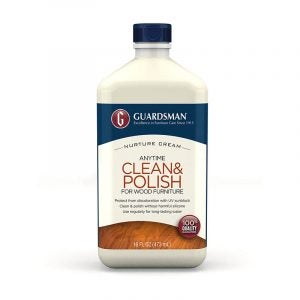 The Best Furniture Polish Option: Guardsman Clean & Polish For Wood Furniture