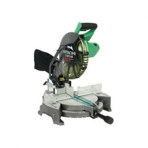 The Best Miter Saw option: Hitachi 10-Inch Single Compound Miter Saw with Laser