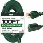 The Best Extension Cord Option: Iron Forge Cable 100 Foot Outdoor Extension Cord
