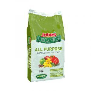 最好的花园肥料选项:Jobe的有机物所有目的颗粒肥料