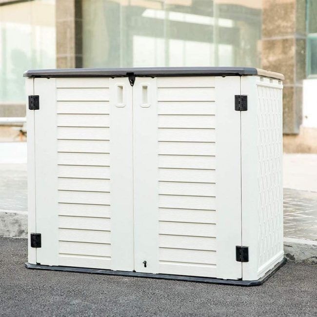 The Best Storage Shed Option: KINYING Garden Storage Shed