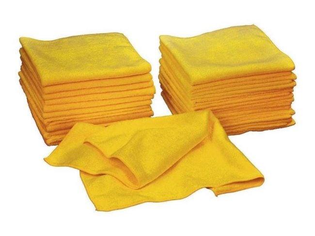 The Best Microfiber Cloth Option: Kirkland Signature Ultra High Pile Premium Microfiber Towels (36-Pack)