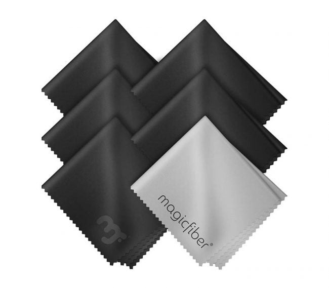 最佳超细纤维布选择:MagicFiber超细纤维清洁布(6包)