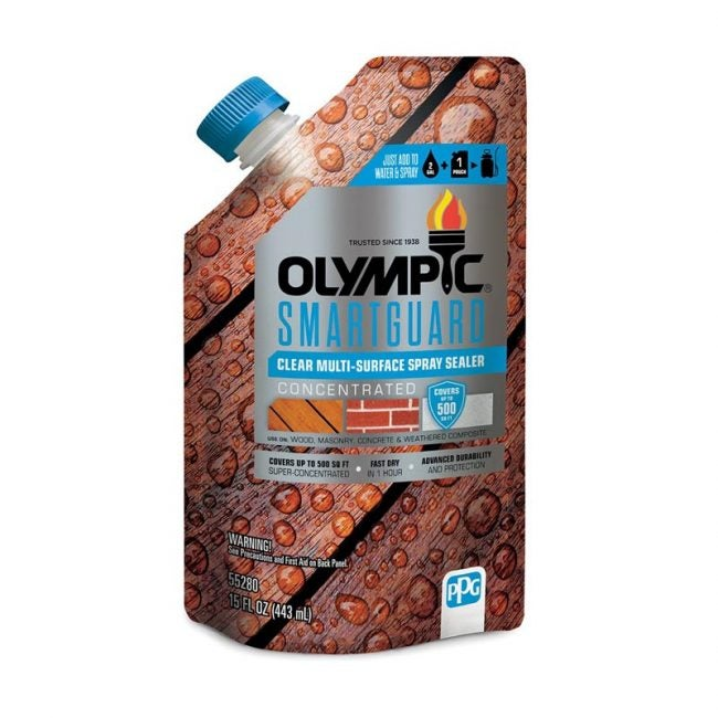 The Best Deck Sealer Option: Olympic Smartguard Concentrated Sealant