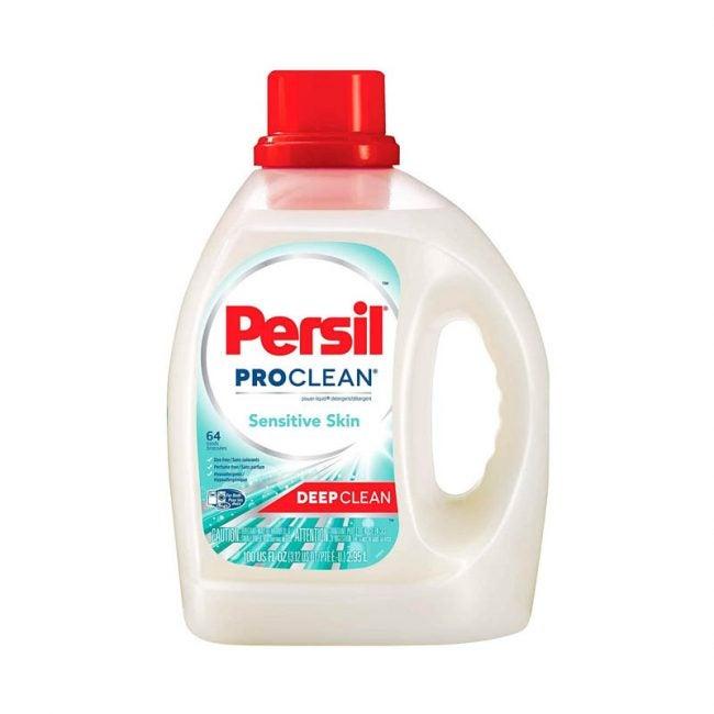 最好的洗衣粉选项:Persil Proclean敏感皮肤