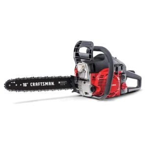 The Best Chainsaw Option: Craftsman S165 42cc Full Crank 2-Cycle Gas Chainsaw