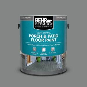 The Best Deck Paint Option: BEHR Premium Gloss Enamel Porch and Patio Floor Paint