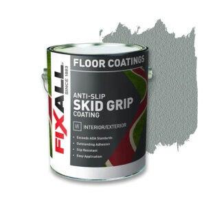 The Best Deck Paint Option: FIXALL Skid Grip Anti-Slip Paint