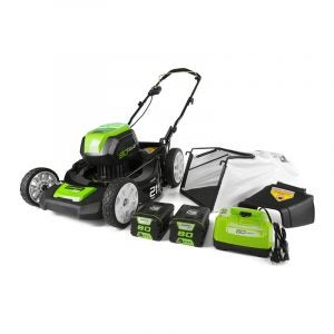 The Best Electric Lawn Mower Option: Greenworks 21-inch Cordless Mower
