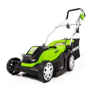 The Best Electric Mower Options: Greenworks 14-Inch 9 Amp Corded Electric Lawn Mower