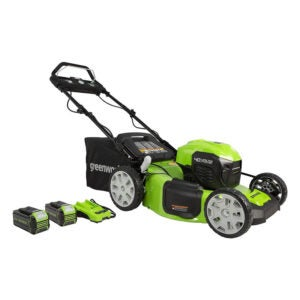 """The Best Electric Mower Options: Greenworks 40V 21"""" Brushless (Smart Pace)"""