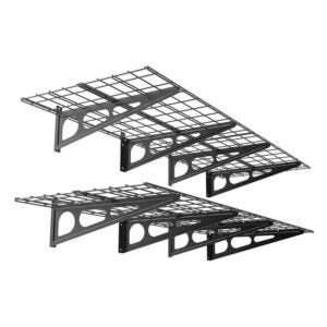 The Best Garage Shelving Option: Fleximounts Floating Wall Shelves