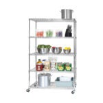 The Best Garage Shelving Option: Seville Classics 5-Tier Steel Wire Shelving