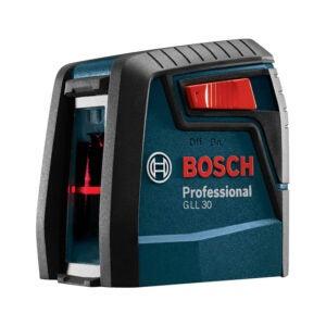 The Best Laser Level Option: Bosch GLL30 30ft Cross-Line Laser Level