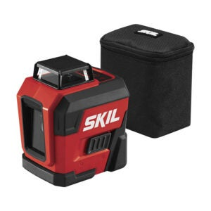 The Best Laser Level Option: SKIL Self-Leveling 360-Degree Cross Line Laser