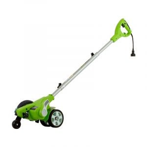 The Best Lawn Edger Option: GreenWorks 12-Amp Corded Edger