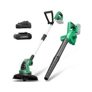 The Best Leaf Blower Option: KIMO 2-in-1 20V Cordless Leaf Blower Vacuum