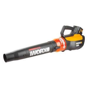 The Best Leaf Blower Option: WORX TURBINE 56V Cordless Battery-Powered Leaf Blower