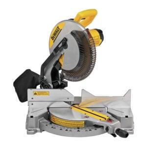 The Best Miter Saw Option: DEWALT 12-Inch Single Compound Miter Saw