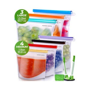 The Best Reusable Sandwich Bag Option: Home Hero Reusable Silicone Food Bag