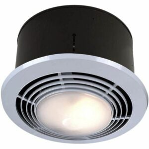 The Best Bathroom Fan Option: Broan-NuTone 9093WH Exhaust Fan, Heater, and Light