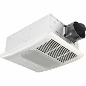 The Best Bathroom Fan Option: Delta BreezRadiance 80 CFM Exhaust Bath Fan