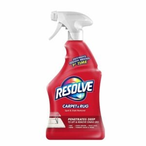 The Best Carpet Stain Remover Option: Resolve Carpet Triple Oxi Advanced Stain Remover