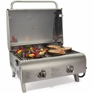 The Best Grill Option: Cuisinart CGG-306 Chef's Style Propane Tabletop Grill