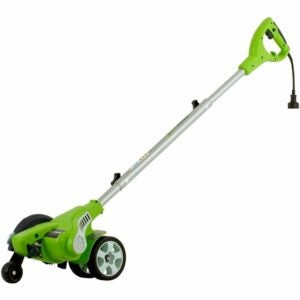 The Best Lawn Edger Option: Greenworks 12 Amp Electric Corded Edger 27032