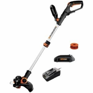 The Best Lawn Edger Option: WORX WG163.8 Cordless String Trimmer & Edger