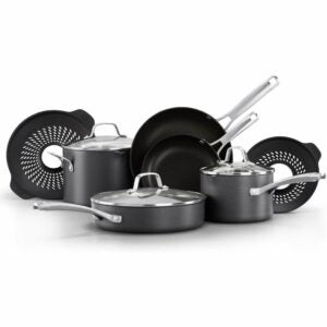 The Best Nonstick Cookware Option: Calphalon Classic Pots and Pans 10 Piece Cookware Set