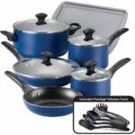 The Best Nonstick Cookware Option: Farberware Nonstick Cookware Pots Pans Set, 15 Piece