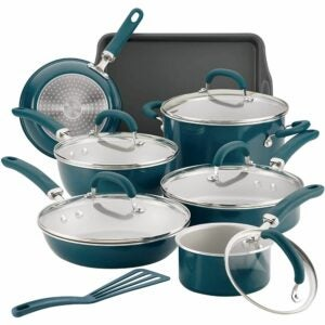 The Best Nonstick Cookware Option: Rachael Ray Create Delicious Nonstick Cookware Set