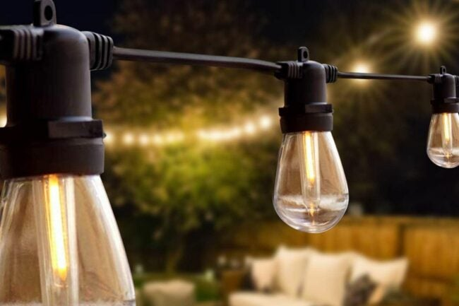 The Best Outdoor String Lights Option